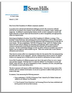 Letter from DAJ